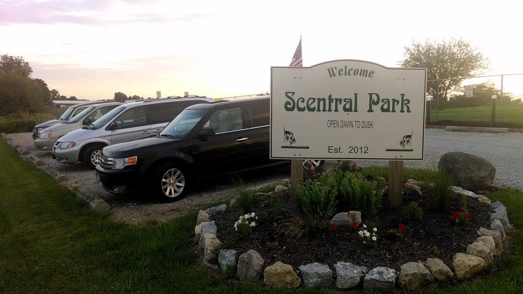 Scentral Park - dog walking park in Greenville, Ohio
